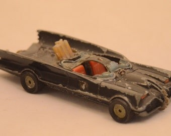 Vintage 1960s CORGI BATMOBILE for parts or restoration