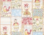 Blend Fabrics - Merry Stitches - Little World of Wonder - PANEL Fabric by Cori Dantini