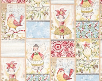 Blend Fabrics - Merry Stitches - Little World of Wonder - PANEL Fabric by Cori Dantini