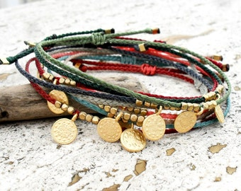 Wish bracelet, Friendship bracelet, string bracelet