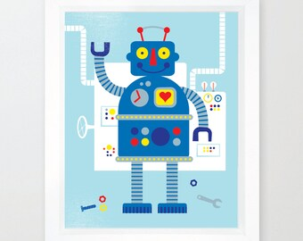 Robot A3 Blue
