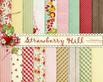 Strawberry Hill Paper Set