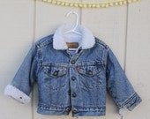 Vntage Levis Denim Jacket, size 3T