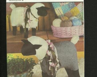 Simplicity 7418 Little Lamb Do Eat Ivy Stuffed Farm Friends Sheep Chic