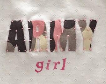 Army Girl Bodysuit
