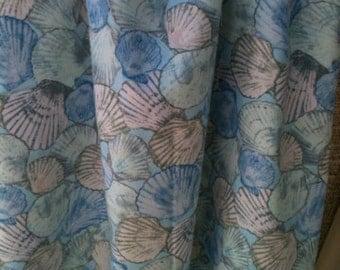 Shell print fabric