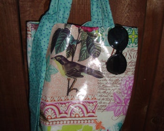 Bag by P.A.M. Vinyl coated Tote