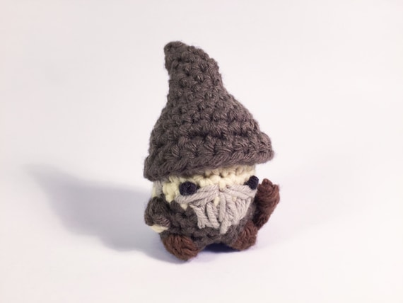 Amigurumi Magische Ring : Items similar to Gandalf the Grey from Lord of the Rings ...
