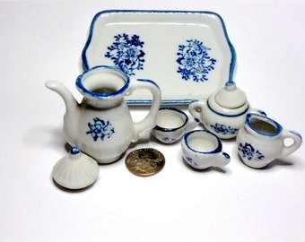 Vintage Tea Set - Miniature Doll 1960s