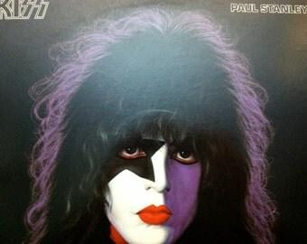Kiss - Paul Stanley solo LP - 1978 - Casablanca NBLP 7123 - Vintage Vinyl LP Record Album