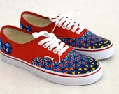 Vans Authentic Sacred Geometry theme - Flower of Life