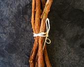 Organic Chew Stick - Organic Licorice Root Sticks - Natural Toothbrush