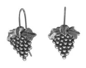 Tiny Grape Earrings - LT358