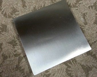 Steel Bench Block 4 x 4 x 3/4 inch