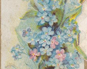 """Ca. 1910 """"Good Luck"""" Embossed Friendship Greetings Postcard - 385"""