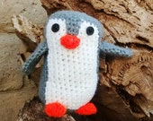 Amigurumi Crochet PENGUIN! Custom Made, Great for KIDS!