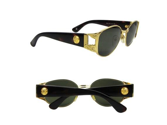 gianni versace lunettes de soleil vintage baroque mod s63. Black Bedroom Furniture Sets. Home Design Ideas