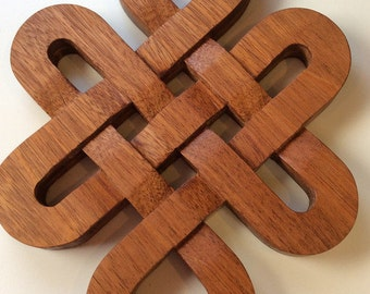 Large Celtic Knot Trivet and Decorative Piece