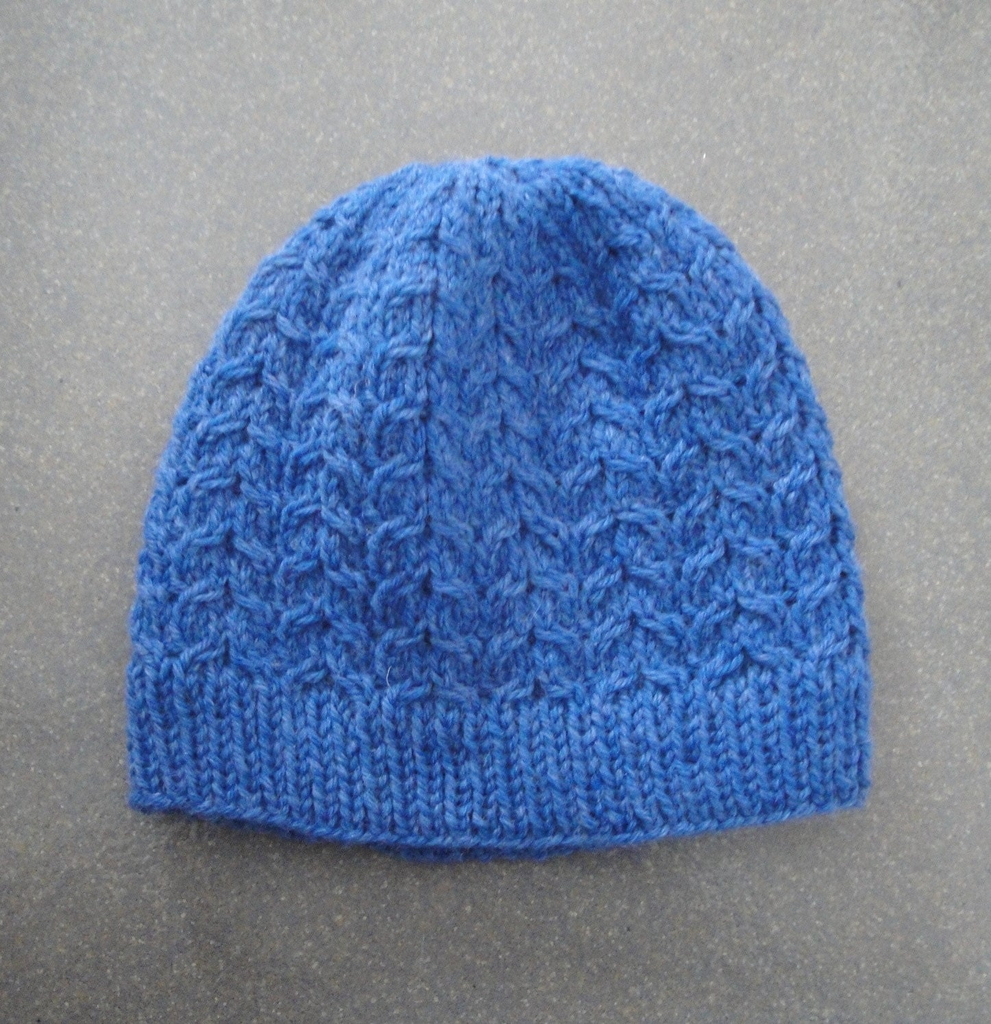 Knitting Beanie Patterns : Copy cable beanie pdf knitting pattern intermediate cabled