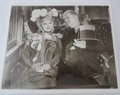 W.C Fields and Mae West Vintage Movie Photograph My Little Chickadee