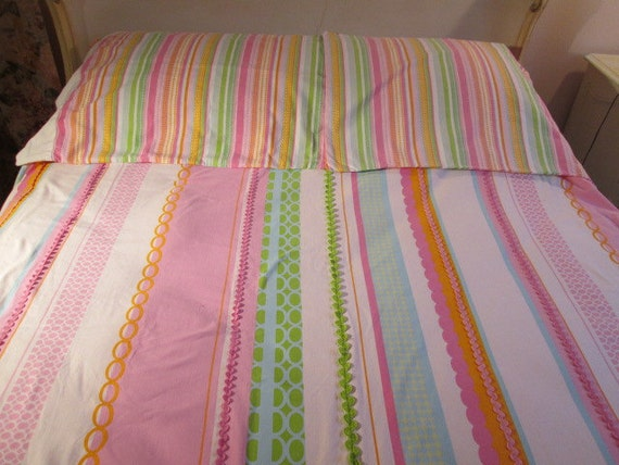 7 Piece Vintage Bed Set Swell By Cynthia Rowley Ice Cream