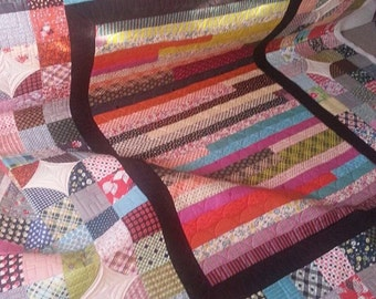 Patchwork Love Queen size quilt