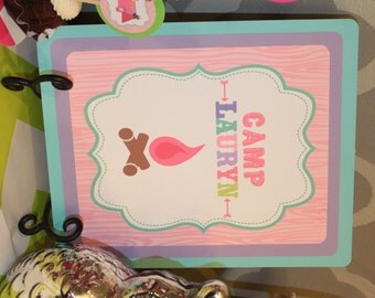 GLAMPING GLAM CAMPING Happy Birthday or Baby Shower Door or Welcome Sign  - Party Packs Available