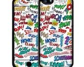 Comic Book iPhone Case - iPhone 6 Case Skin, iPhone 5/5S Case Skin, iPhone 5c Cases, Iphone 4/4S case, iPhone 6 plus cases Skins