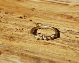 Sterling Silver Ring - Contemporary jewelry