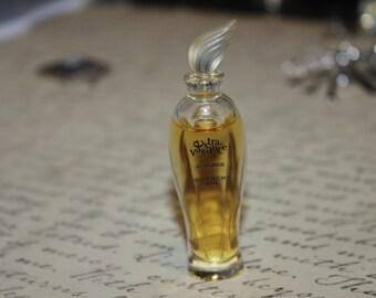 Vintage Mini Perfume Bottle with Perfume, Extra Vagance, Givenchy, Paris