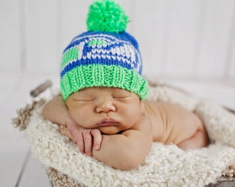 Retro baby Seahawks hat