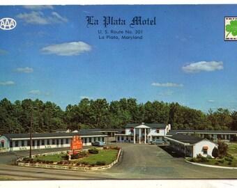 La Plata  Motel La Plata Maryland US Route 301 Tobacco Trail Baltimore Washington Potomac River Bridge
