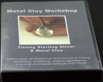 Metal Clay Workshop DVD - Fusing Sterling Silver and Metal Clay