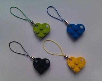 Lego Heart Charm