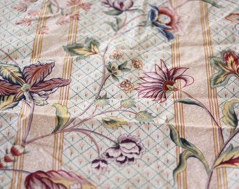 Ribeauville an exclusive Clarence House design by Kazumi. hand printed in France MCMLXXX.