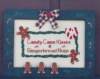 Clearance - Candy Cane Kisses by Frances & Me