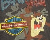 1993 Harley-Davidson & Tazmanian Devil tshirt