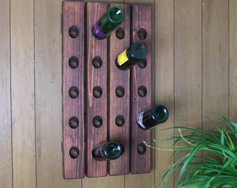 Clearance Sale:  Wood Wine Rack Riddling Rack Antique Style While Supplies Last