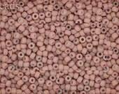 TOHO 11/0 seed beads 10g Opaque TR-11-764 Pale Peach Frosted Toho beads Matte seed beads Toho seed beads size 11 toho beads
