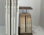 Mailing Scale Vintage Industrial Pelouze Scale Metallic Industrial Decor