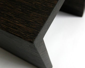 NEW Ebonized black version of The Original Couch Arm Wrap - completely natural non toxic stain