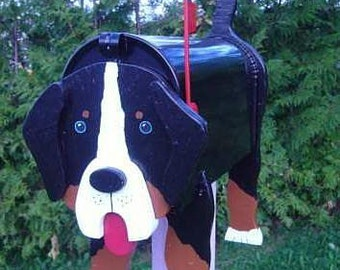 Dog mailboxes - Bernese mailbox