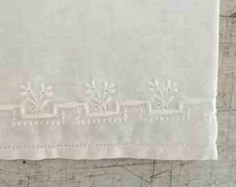Vintage hand Embroidery Handkerchiefs