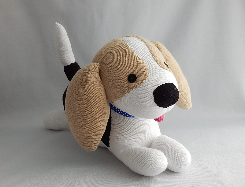 Stuffed Animal Toys : Beagle plush toy dog stuffed animal doll