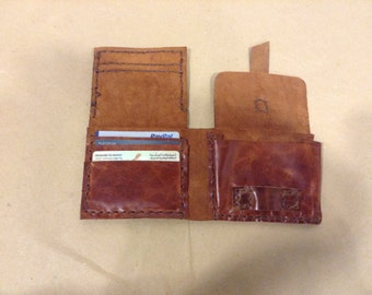 Men's Leather Wallet, Custom Leather Wallet, Accessories for Men