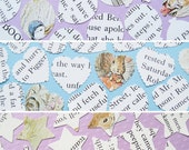 250 Beatrix Potter Confetti - 3 shape choices - Baby Shower, Birthday Party, Christening - Peter Rabbit Table Decor