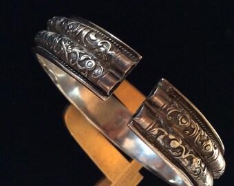20% sale CHINESE SILVER WEDDING Bracelet 1800's Stunning Antique