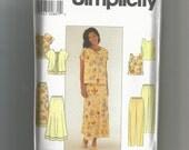 Simplicity pattern 8568 skirt, pants top jacket Size 18 20 22