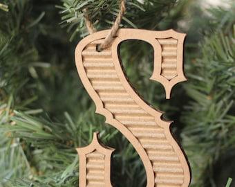 Cardboard Letter Ornament