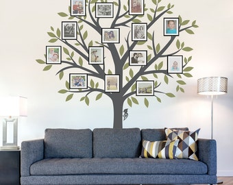 Superior Family Tree Wall Decal   Tree Wall Sticker, Nature Wall Decal, Living Room  Art Part 5